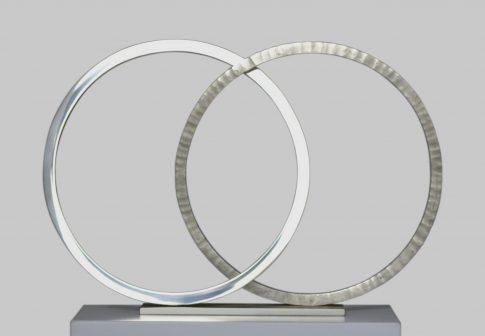 2 ANNEAUX 3 ESPACES - largeur 30 cm